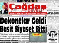 Çağdaş Develi Gazetesi, 07 Ağustos 2020, Sayfa 1