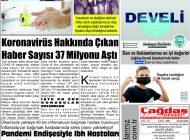 Çağdaş Develi Gazetesi, 04 Eylül 2020, Sayfa 5