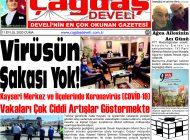 Çağdaş Develi Gazetesi, 11 Eylül 2020, Sayfa 1
