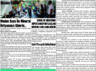 Çağdaş Develi Gazetesi, 18 Eylül 2020, Sayfa 3