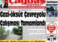 Çağdaş Develi Gazetesi, 18 Eylül 2020, Sayfa 1