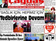 Çağdaş Develi Gazetesi, 25 Eylül 2020, Sayfa 1