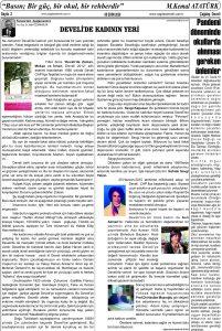 Çağdaş Develi Gazetesi,09 Ekim 2020, Sayfa 2