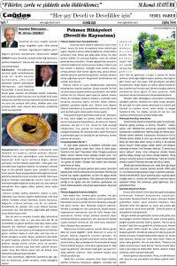 Çağdaş Develi Gazetesi, 16 Ekim 2020, Sayfa 7