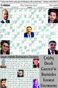 Çağdaş Develi Gazetesi, 16 Ekim 2020, Sayfa 6