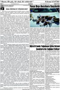 Çağdaş Develi Gazetesi, 16 Ekim 2020, Sayfa 2
