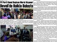 Çağdaş Develi Gazetesi, 23 Ekim 2020, Sayfa 3