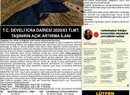 Çağdaş Develi Gazetesi, 20 Kasım 2020, Sayfa 4