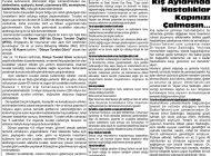 Çağdaş Develi Gazetesi, 20 Kasım 2020, Sayfa 3