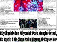 Çağdaş Develi Gazetesi, 27 Kasım 2020, Sayfa 7