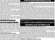 Çağdaş Develi Gazetesi, 04 Aralık 2020, Sayfa 2