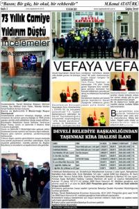 Çağdaş Develi Gazetesi, 15 Ocak 2021, Sayfa 2