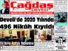 Çağdaş Develi Gazetesi, 01 Ocak 2021, Sayfa 1