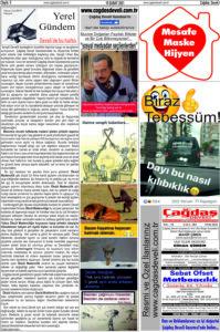 Çağdaş Develi Gazetesi, 19 Şubat 2021, Sayfa 5