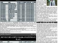 Çağdaş Develi Gazetesi, 19 Şubat 2021, Sayfa 4