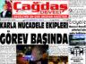 Çağdaş Develi Gazetesi, 19 Şubat 2021, Sayfa 1