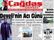 Çağdaş Develi Gazetesi, 26 Şubat 2021, Sayfa 1