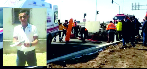 Trafik Kazasında Mustafa Patat Vefat Etti