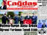 Çağdaş Develi Gazetesi, 09 Nisan 2021, Sayfa 1