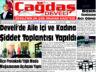 Çağdaş Develi Gazetesi, 16 Nisan 2021, Sayfa 1