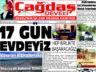 Çağdaş Develi Gazetesi, 30 Nisan 2021, Sayfa 1