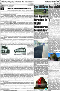 Çağdaş Develi Gazetesi, 07 Mayıs 2021, Sayfa 2