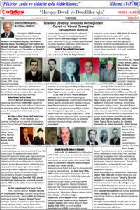 Çağdaş Develi Gazetesi, 14 Mayıs 2021, Sayfa 7