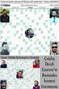 Çağdaş Develi Gazetesi, 14 Mayıs 2021, Sayfa 6
