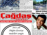 Çağdaş Develi Gazetesi, 28 Mayıs 2021, Sayfa 8