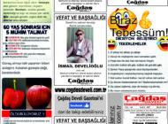 Çağdaş Develi Gazetesi, 28 Mayıs 2021, Sayfa 5