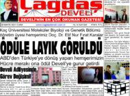 Çağdaş Develi Gazetesi, 28 Mayıs 2021, Sayfa 1