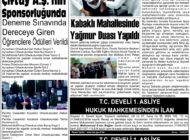 Çağdaş Develi Gazetesi, 04 Haziran 2021, Sayfa 2