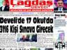 Çağdaş Develi Gazetesi, 18 Haziran 2021, Sayfa 1