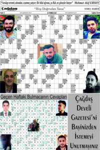Çağdaş Develi Gazetesi, 30 Temmuz 2021, Sayfa 6