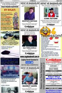 Çağdaş Develi Gazetesi, 30 Temmuz 2021, Sayfa 5