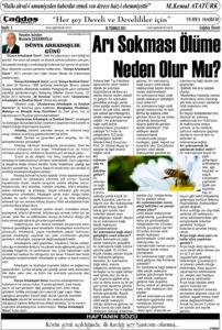 Çağdaş Develi Gazetesi, 30 Temmuz 2021, Sayfa 3