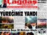 Çağdaş Develi Gazetesi, 30 Temmuz 2021, Sayfa 1