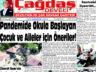 Çağdaş Develi Gazetesi, 03 Eylül 2021, Sayfa 1