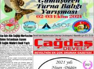 Çağdaş Develi Gazetesi, 24 Eylül 2021, Sayfa 8