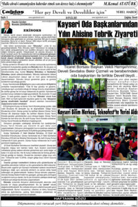 Çağdaş Develi Gazetesi, 24 Eylül 2021, Sayfa 3