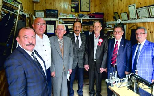 Kayseri Oda Başkanlarından Yılın Ahisine Tebrik Ziyareti