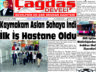 Çağdaş Develi Gazetesi, 08 Ekim 2021, Sayfa 1