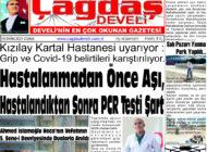 Çağdaş Develi Gazetesi, 15 Ekim 2021, Sayfa 1